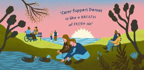 Carer Card design three