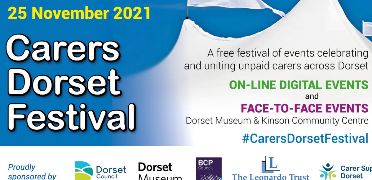 Carers Dorset Festival coming 25 November
